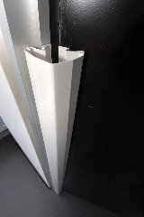 PRO Pack for 170 Degree Doors PINCHSHIELD Silver 70.9 4 Door Finger Guards