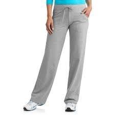 (Danskin Now Women's Plus-Size Dri-More Core Relaxed Fit Workout Pant - 2X Plus - Gray)