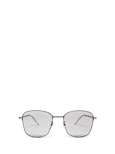 Luxury Fashion | Balenciaga Man BB0061SK004 Silver Metal Sunglasses | Season Permanent