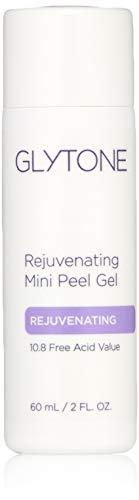 Glytone Rejuvenating Mini Peel Gel with 10.8% Glycolic Acid, Face Mask Peel, Exfoliates Dead Skin, Renew Complexion, 2 oz.