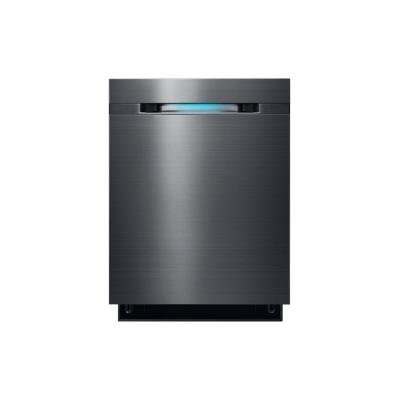 Top Control Dishwasher in Black Stainless with Stainless Steel Tub and WaterWall Wash System,Black Stainless