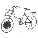 Decorative Bicycle Decor Metal Sculpture 17.5 (Garden Sculpture Bicycle)
