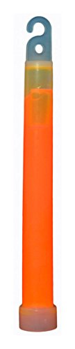 HUMVEE HMV 6OR 6 Inch Weatherproof Lightstick with 12 Hour Glow Time, Orange