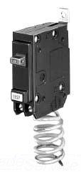 Eaton / Cutler Hammer QBGFEP1020 Quicklag Ground Fault Miniature Circuit Breaker 20 Amp, 120 Volt AC, 1-Pole, Bolt-On Mount, by Cutler & Hammer