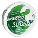 Breath Savers 3 Hour Spearmint, 1.27-Ounce Pucks (Pack of 24) by Breath Savers