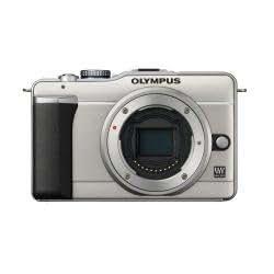 Olympus E-Pl1 (Doble Zoom Kit) Plata
