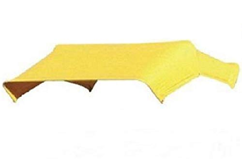Yellow Buggy Top Replacement Canvas Cover Only For 3 Bow 48″ Umbrella Frame JBT3 Farmer Bob's Parts 405592