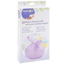 Babies R Us Diaper Disposal Sacks Travel Pack 50 ct, Two-Pack by Babies R Us