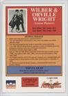 The Wright Brothers (Trading Card) 1992 Starline Americana - [Base] #188