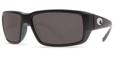 Costa Del Mar Fantail Polarized Sunglasses, Black, Gray 580Plastic