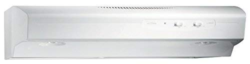 Broan QS130WW  220 CFM Under Cabinet Hood, 30-Inches, White ()