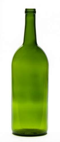 1.5 Liter Magnum Claret Wine Bottle Green (single)