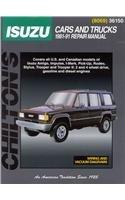 Isuzu: Cars and Trucks 1981-91 (Chilton's Total Car Care Repair Manual)