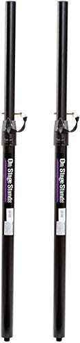 - On-Stage Stands SS7746 Adjustable Sub Pole 2-Pack Bundle