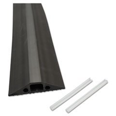 Medium Duty Floor (** Medium-Duty Floor Cable Cover, 2 3/4 x 1/2 x 6 ft, Black)