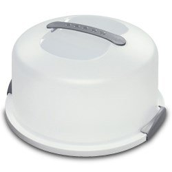 cake holder with lid - 1