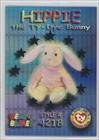 Wild Cards - Hippie the Ty-Dye Bunny (Trading Card) 1999 Ty Beanie Babies Series 3 - [Base] - Chase Teal #53