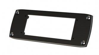 Mounting Plate Single - Fusion MS-RA200MP DIN Mounting Plate for MS-RA200