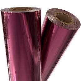 Burgundy Metallic Laminating/Toner Fusing Foil (8'' x 100') by MyBinding