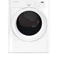 Frigidaire FFQE5000QW 7.0 Cu. Ft. Classic White Stackable Electric Dryer