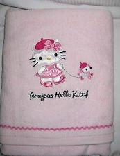 Hello Kitty Towel Bonjour-paris Girls Bathroom