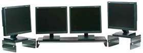 ALIMED 78273 Ergokomfort Monitor Riser 12''W x 9''D, Clear by AliMed