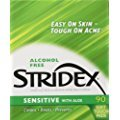 STRIDEX PADS SENSITIVE SKIN Pack of 90 by BLISTEX INCORPORATED *** by Choice One