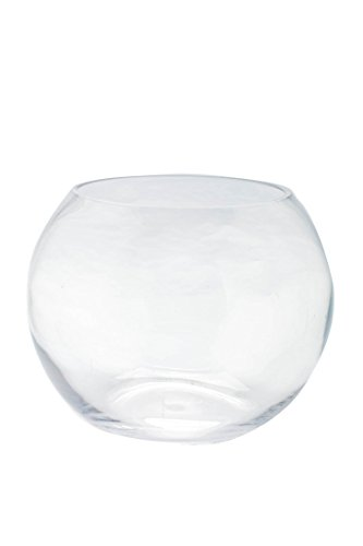 Clear Glass Bubble (Diamond Star Glass Clear Bubble Bowl, 12