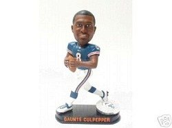 Miami Dolphins Daunte Culpepper Forever Collectibles Black Base Bobblehead (Dolphins Head Miami Bobble)