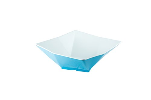 13 In Square Bowl (TableCraft Products MB134BLW Angled Square Bowl, Large, 13
