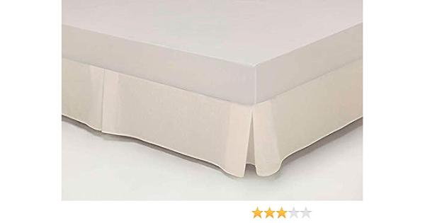 Cubre CANAPÉ Fuelle Cama 90 cm Blanco: Amazon.es: Hogar