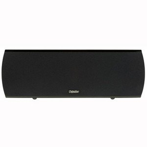 Definitive Technology ProCenter 1000 Compact Center Speaker (Single, Black) by Definitive Technology