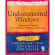 Undocumented Windows: A Programmers Guide to Reserved Microsoft Windows Api Functions (The Andrew Schulman Programming Series/Book and Disk) by Andrew Schulman (1992-08-01)