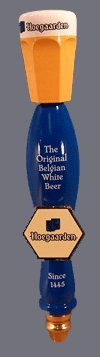 Hoegaarden The Original Belgian White Beer Tap Handle Inbev Anheuser Busch