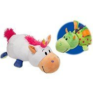 FlipZee The 5 inch Baby FlipaZoo with 2 Sides of Fun for Everyone - Each Huggable FlipaZoo character is Two Wonderful Collectibles in One (Unicorn / Dragon) (Robot Poppy compare prices)