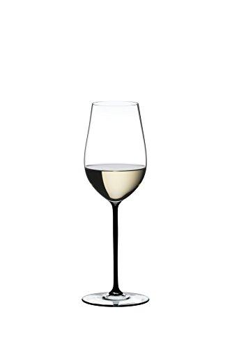 Riedel Fatto A Mano Riesling/Zinfandel Wine Glass, Black (Pink Wine Glasses Riedel)