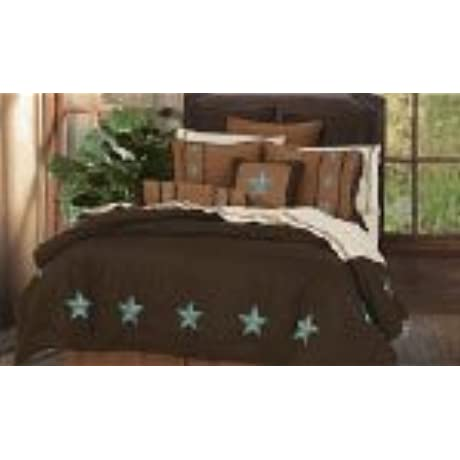 Laredo Turquoise Star 6PC Bedding Set King
