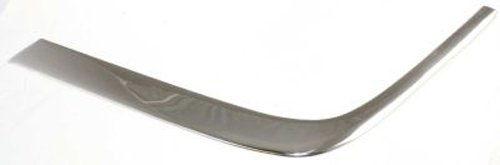 CPP Chrome Front, Driver Side Bumper Trim for Mercedes-Benz E-Class MB1046105