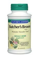 Natures Answer Butchers Broom - Nature's Answer Butcher's Broom Root - 90 Vegetarian Capsules