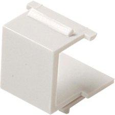 Steren White Blank Keystone Insert - 10 - Pack - 310-420WH-10