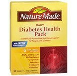 Nature Made Diabetes Health Pack, 30 Packets by Unknown