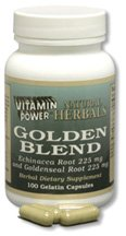 Golden Blend Herbal 100 450mg Capsules
