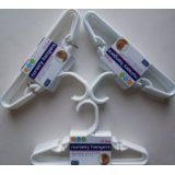 Delta White Nursery Hangers 30 Pack For Baby, Toddler, Kids, Children (3 Packs of 10)