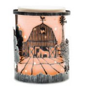 NEW Scentsy Etched Core Warmer - Farm Life Wrap by Scentsy