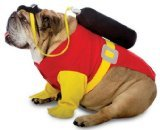 Rasta Imposta Scuba Dog Costume, X-Large ()