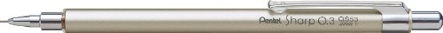 Pentel Mechanical Pencil, for Diary, 0.3mm, Champagne Gold (QS53-X)