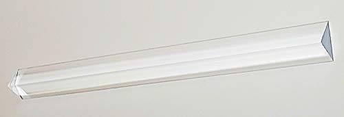 "1 Pc 3/4"" x 3/4"" x 1"" x 36"" Long ISOSCELES Triangle Clear Acrylic PLEXIGLASS Lucite Plastic Rod - .75"" - 19mm x 19mm x 25.4mm"
