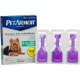 PETARMOR Topical Flea & Tick Treatment For Dogs & Puppies, For Dogs Up To 22 lbs. EA (Pack of 12)