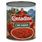 Contadina Tomatoes Roma Style Crushed In Tomato Puree 28 OZ (Pack of 18)
