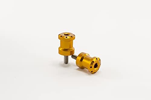 Ingreepwielen voor montagestandaard set Puig Hi-Tech 6MM goud